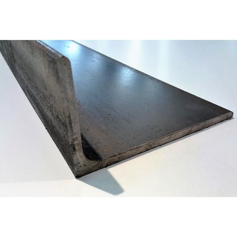 d coupe fer corni re acier gale 80x80x8 mm lamin chaud s235jr. Black Bedroom Furniture Sets. Home Design Ideas