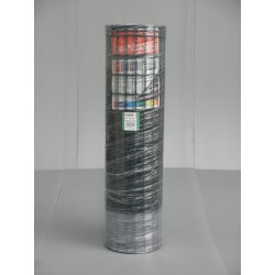 Palette de 12 rouleaux de Grillage Plastifié Vert LUXOR 1M20 / 25M