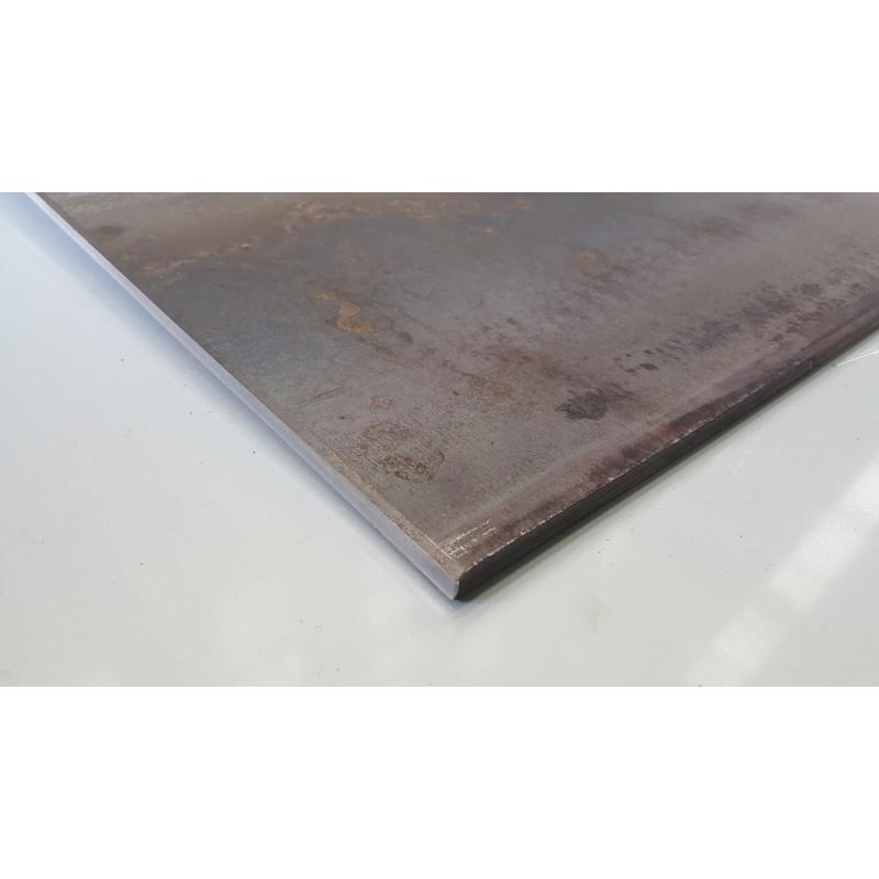 d coupe de t le epaisseur 12 mm acier lamin chaud qualit s235jr. Black Bedroom Furniture Sets. Home Design Ideas