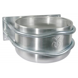 MANGEOIRE RONDE en aluminium 18 L