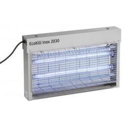 TUE MOUCHES électrique inox EcoKill 2x15W Bleu