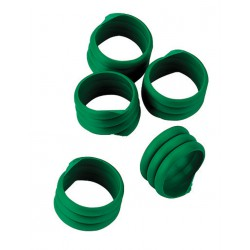 BAGUE D'IDENTIFICATION vert ø 16 mm - 25 pièces