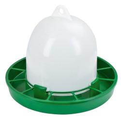 NOURISSEUR PVC à trémie pour poules et cailles 2,5 kg
