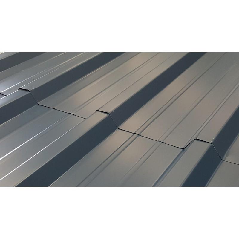 tole bac acier profil e pour toiture et bardage bleu nuit bleu ardoise. Black Bedroom Furniture Sets. Home Design Ideas