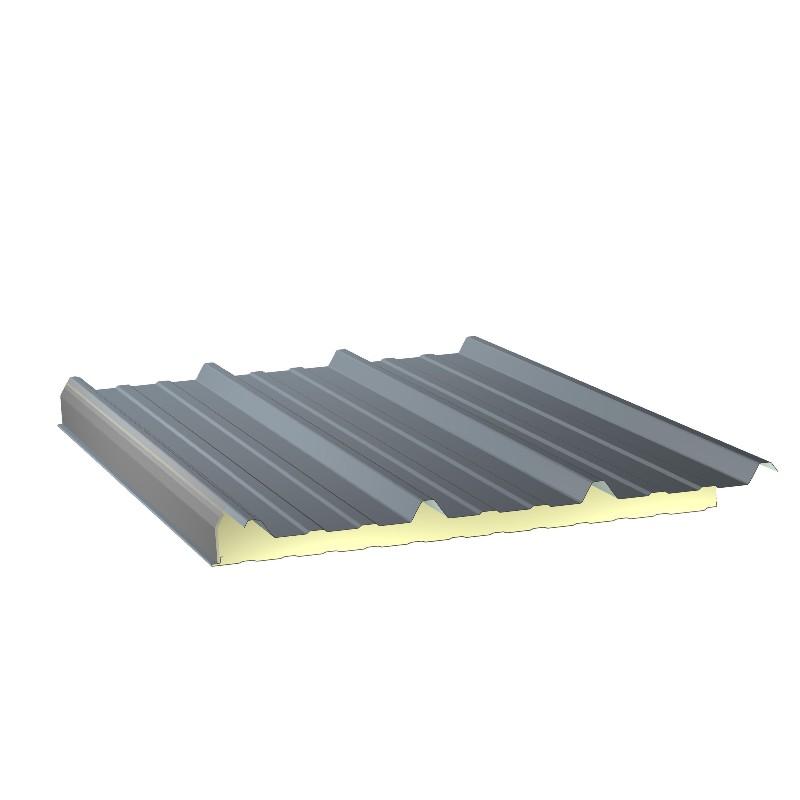 Panneau Sandwich 4m10 ECO 30 mm + Sous Face Aluminium  Gris Anthracite RAL 7016