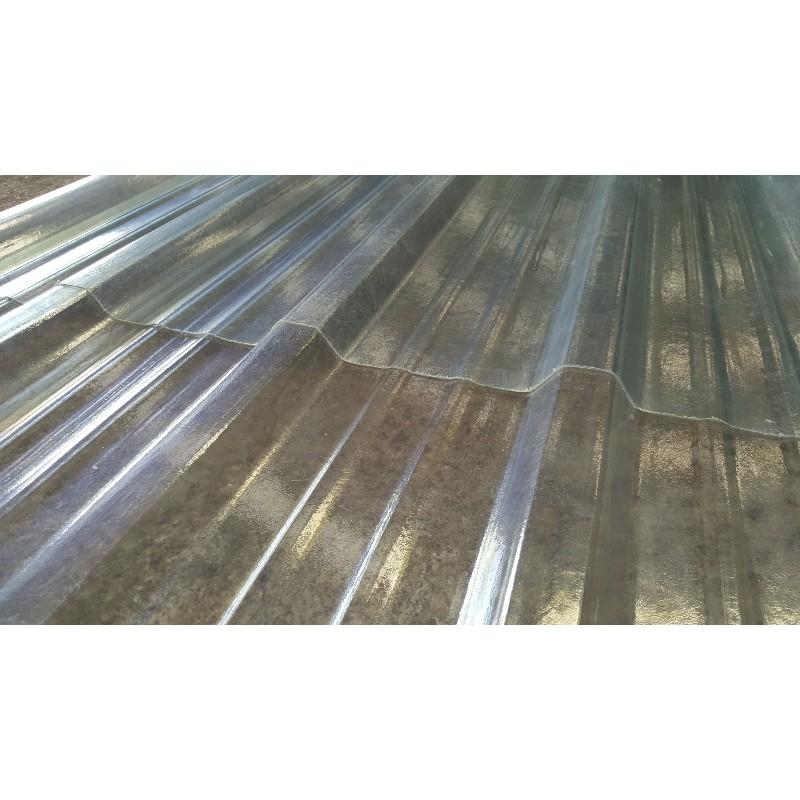 Tôle Translucide Profilée bac acier pour Toiture et Bardage - 4 M