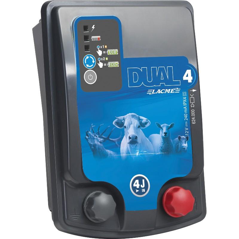 Electrificateur LACME DUAL D4 - Alimentation Mixte 12V/230V
