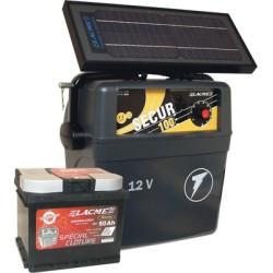 Electrificateur Solaire LACME SECUR SOLIS 6W+ACCU 50 AH