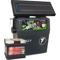 Electrificateur Solaire LACME SECUR ZENITH 6W+ACCU 50 AH