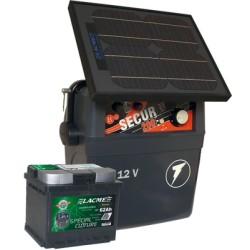 Electrificateur Solaire LACME SECUR STAR 10W+ACCU 62 AH