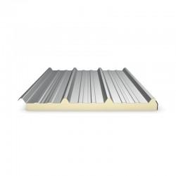 Panneau Sandwich 4m60 ECO 30 mm + Sous Face Aluminium  Gris Anthracite RAL 7016