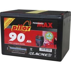 PILE PILOR LACME 9V - 90 Ah Alcaline pour électrificateur de clôture