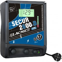 Electrificateur LACME SECUR 2600 D HTE