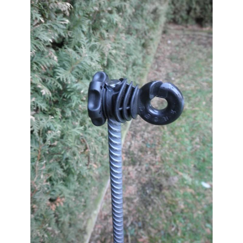 Isolateurs piquets métal et PFV LACME -   IVABLOC 50 pour clôture électrique