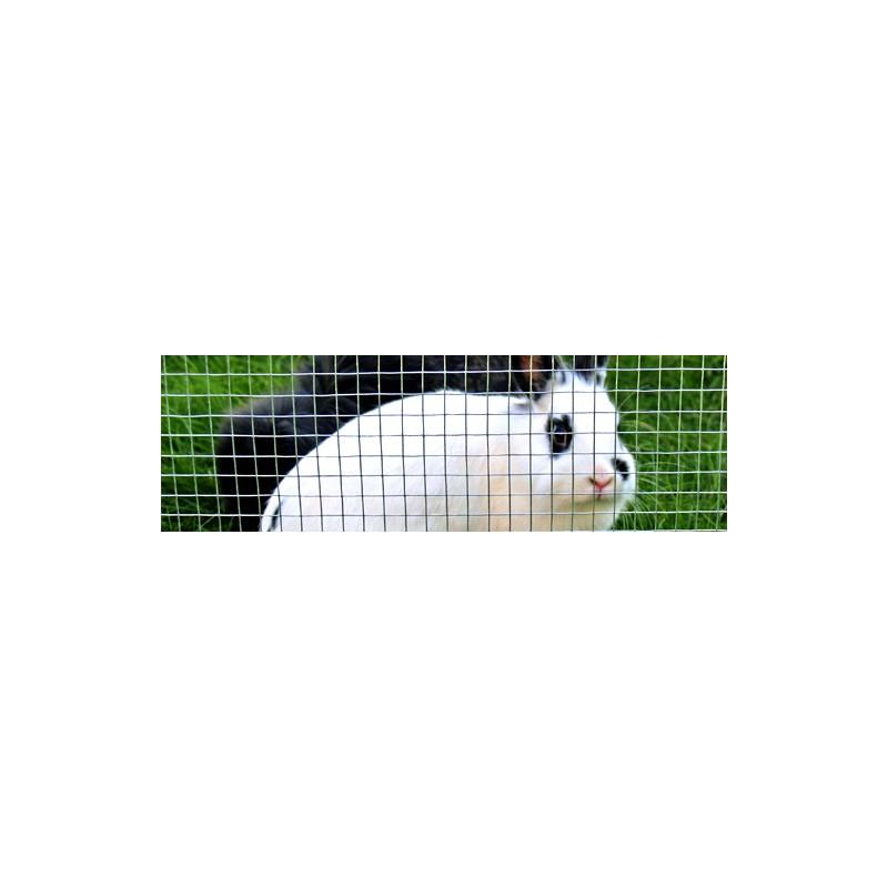 Grillage Lapins Maille 13x13mm-H.50cm-25M
