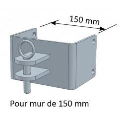 Paire de Chape pour Mur 150mm - JOURDAIN