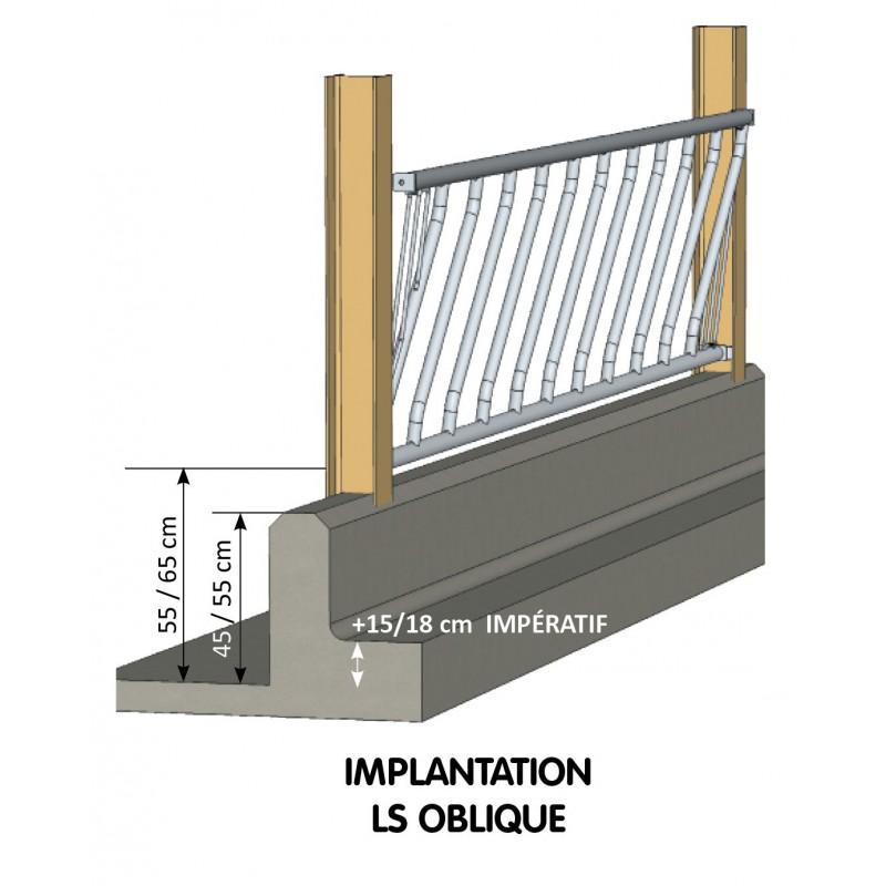 Libre-Service Oblique 12 PL / 6 M - JOURDAIN