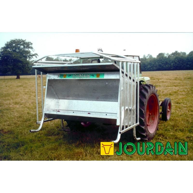 Nourrisseur s lectif 2 m galvanis jourdain pour bovins et for Container prix neuf