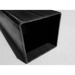 Tube acier carré  80 mm x 80 mm x 3 mm