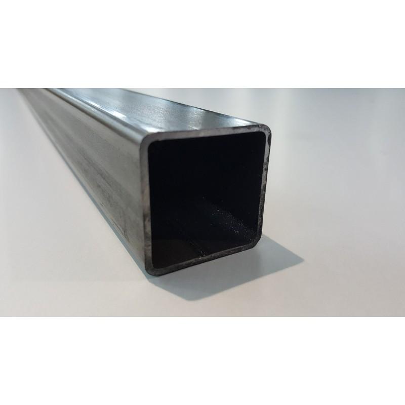 Tube acier carré  80 mm x 80 mm x 4 mm