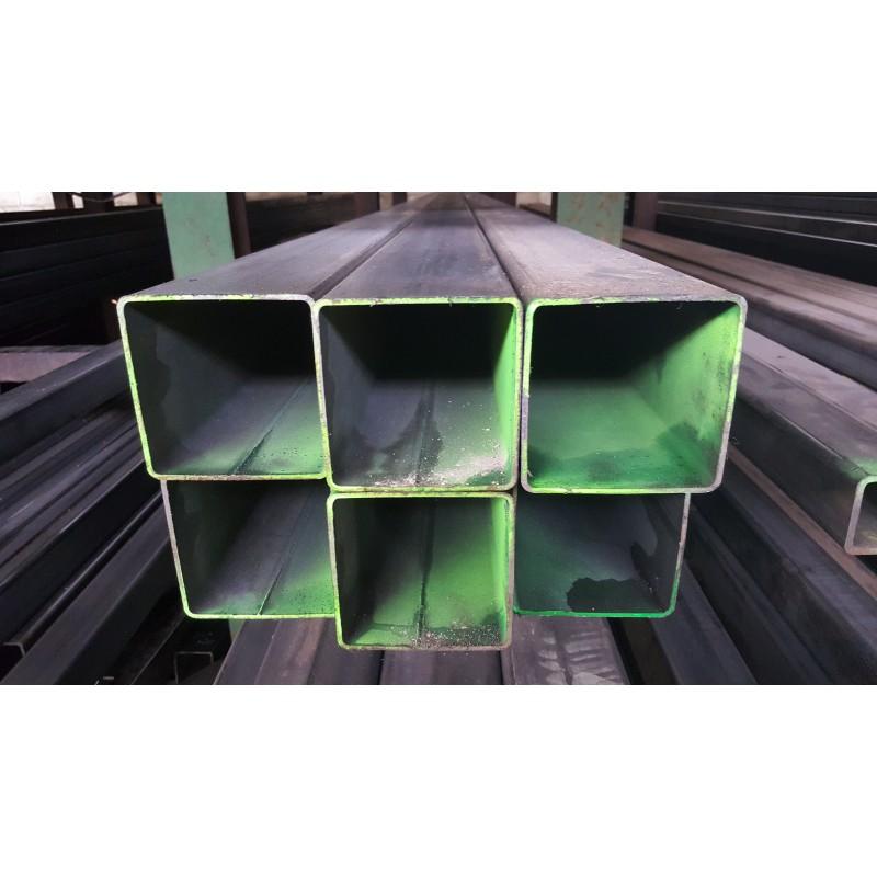 tube carr acier 100x100x5 mm s235jr form froid la. Black Bedroom Furniture Sets. Home Design Ideas