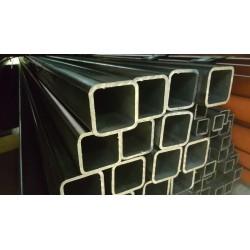Tube acier carré  100 mm x 100 mm x 8 mm