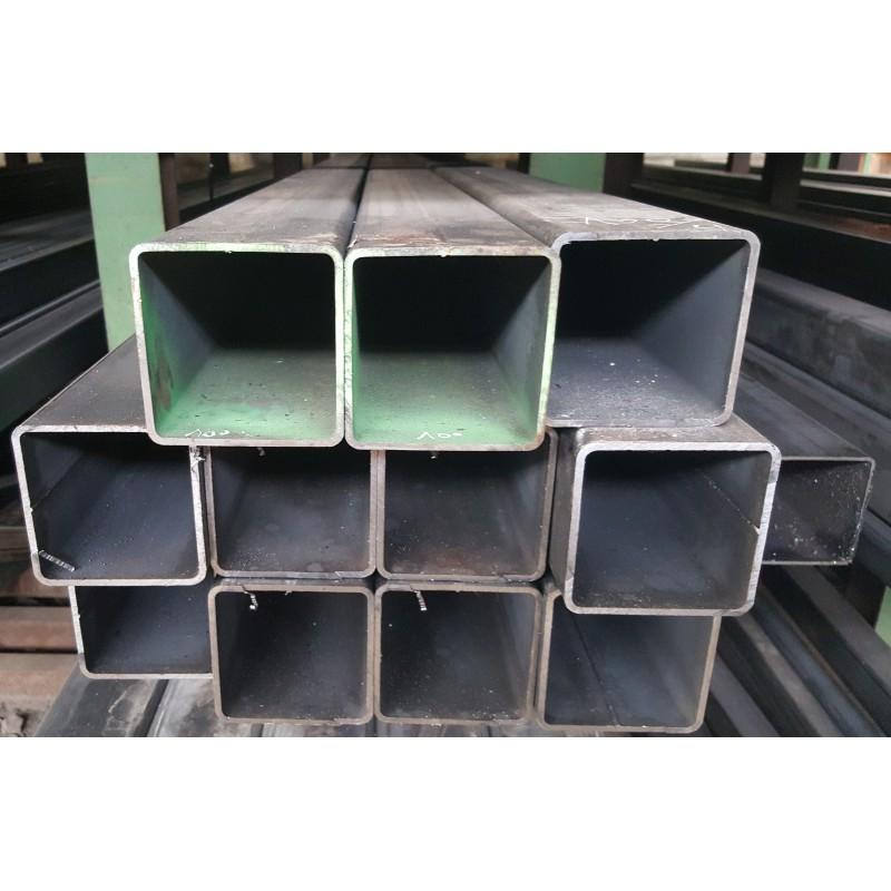 tube carr acier 120x120x3 mm s235jr form froid la. Black Bedroom Furniture Sets. Home Design Ideas