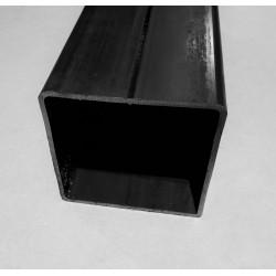 Tube acier carré  120 mm x 120 mm x 3 mm