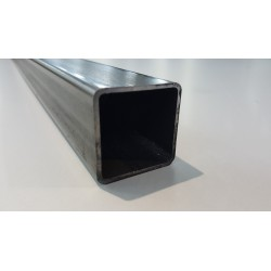 Tube acier carré  120 mm x 120 mm x 4 mm