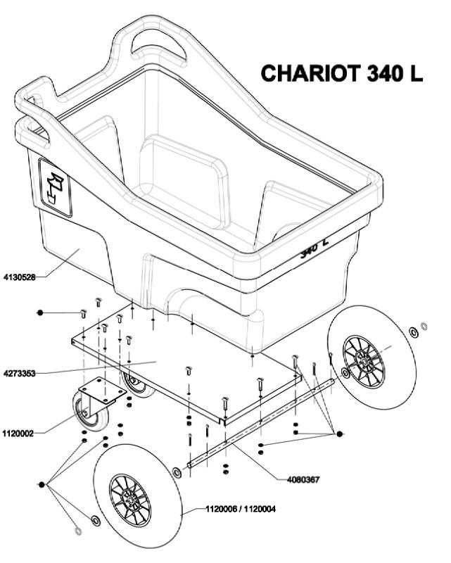 Chariot 340 L