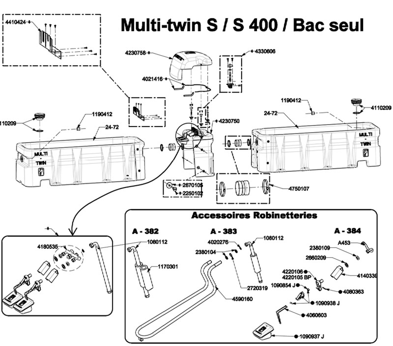 MULTI TWIN S S400 BAC SEUL
